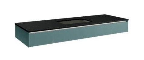 Robern - Robern VS60UCN Slim 3 Drawer under Counter Vanity ...