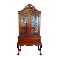 Hendredon Style Mahogany China Cabinet - Exquisite cabinet! A classic ...