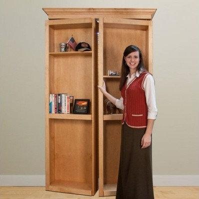 Invisidoor Bi-Fold Hidden Doors