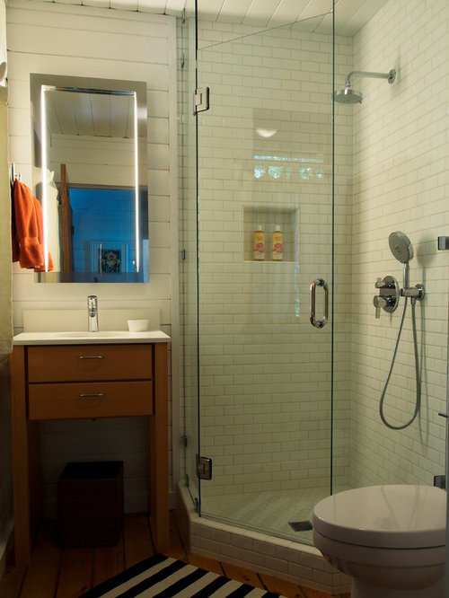 Small eclectic shower room design ideas renovations photos for 9x5 bathroom ideas