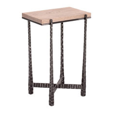 Wood cubby 12 inch wide x 24 inch high rectangle white for 12 inch accent table