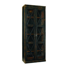 Hooker Furniture - Two-Door Thin Display Cabinet, Ebony - Whether they ...