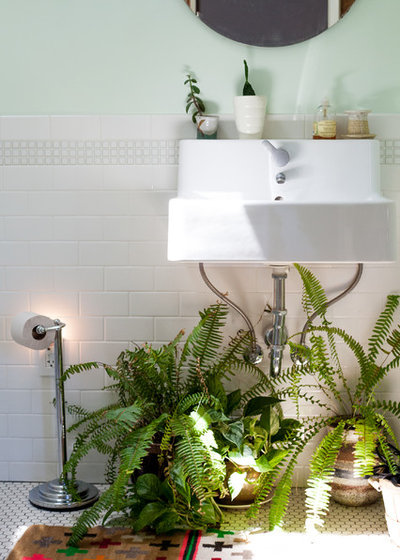 Eclectic Bathroom by A Darling Felicity Photography
