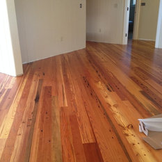 Shop reclaimed heart pine products on houzz for Mill run grade hardwood flooring