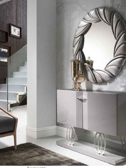 Recibidores modernos y de cristal - Colores para recibidores ...