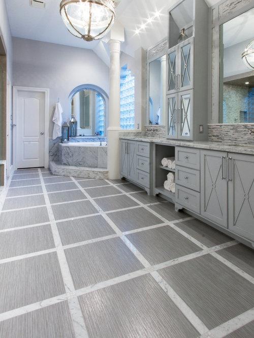 Houston Bathroom Design Ideas Renovations Photos With A Corner Tub