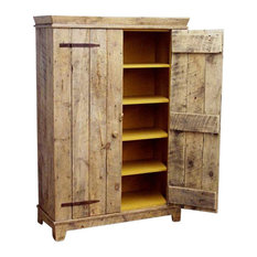 Pantry Cabinet: Rustic Pantry Cabinet with How To Build Rustic ...