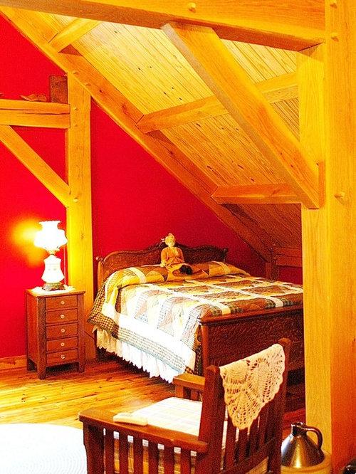 rustic red boys bedroom ideas | Rustic Red Bedroom Design Ideas, Renovations & Photos