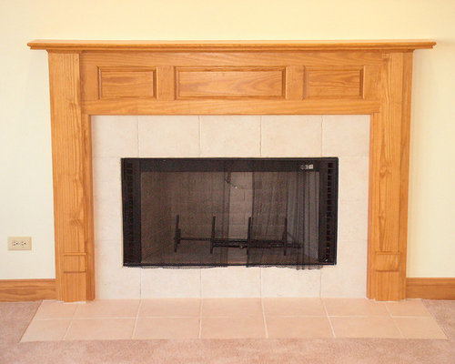 Gas Starter Wood Burning Fireplace Home Design Ideas Pictures Remodel And Decor