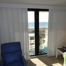 Tropical Curtains And Drapes Houzz