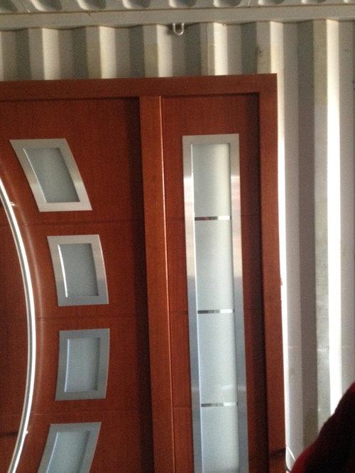 Door project mahwah nj custom order meranti wood for Order front door