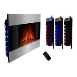 Shop electric fireplaces products on houzz for Electric moving wall pictures