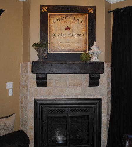 fireplace mantels faux wood. Black Bedroom Furniture Sets. Home Design Ideas
