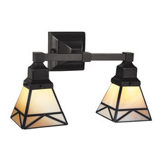 Mission Style Bathroom Wall Sconces : Craftsman Bathroom Vanity Lights Houzz