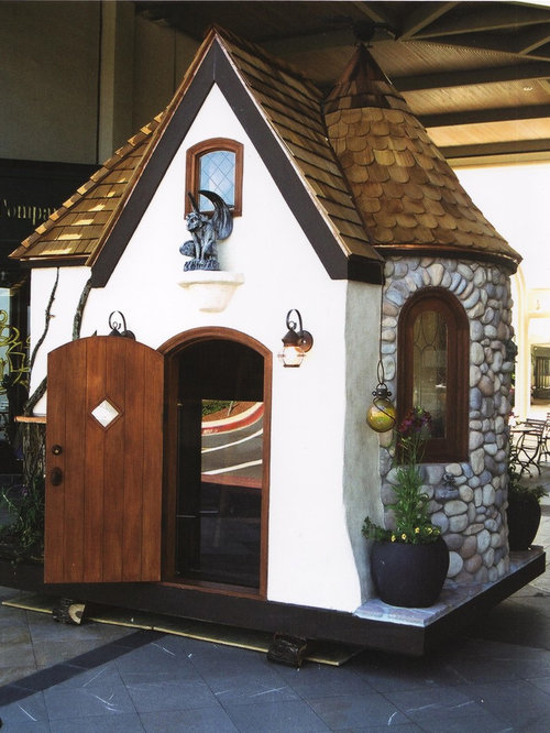 Whimsical Playhouse Home Design Ideas Pictures Remodel