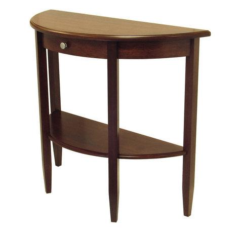 Coffee Table 94231 End Table 94217 Small Half Moon Hall Table
