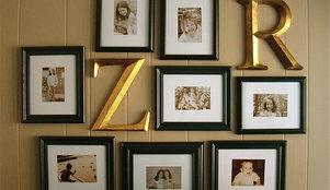 20 Great Ways To Display Family Photos