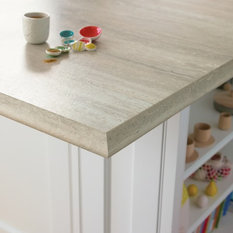 ... Travertine Silver 180fx® with Ogee IdealEdge™ - Kitchen Countertops
