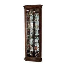 "- Howard Miller 80"" Drake Curio Cabinet. The Drake Corner Curio ..."