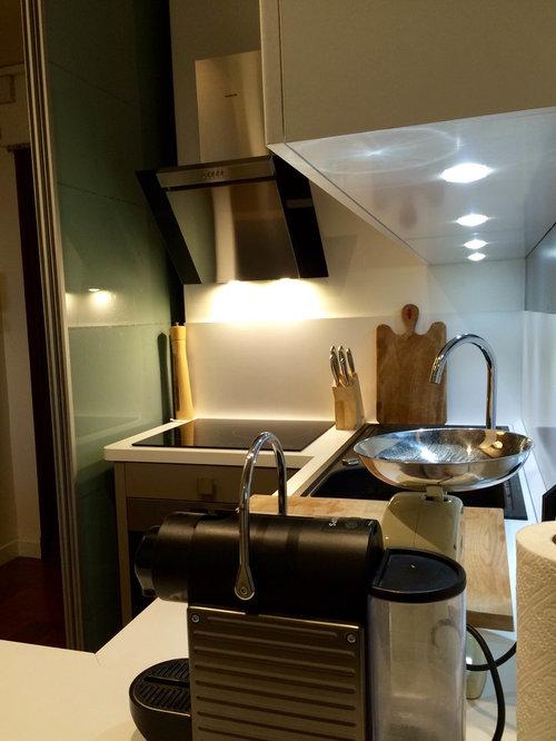 Cr ation cuisine dans un petit espace de 4m2 - Cuisine petit espace ...