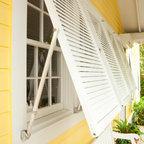 Bahama Impact Storm Decorative Shutters Tropical