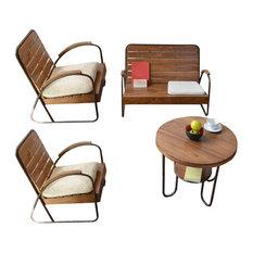 photos industriel mobilier de jardin