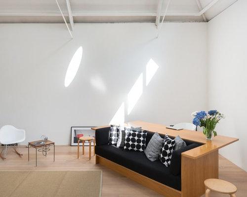 skandinavische wohnzimmer im loft style ideen f rs. Black Bedroom Furniture Sets. Home Design Ideas