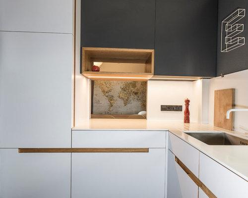 scandinavian kitchen design ideas renovations photos. Black Bedroom Furniture Sets. Home Design Ideas