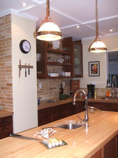 Inspiring painted kitchen countertops