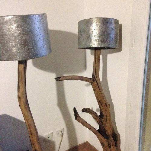 cr ation mobilier luminaire sculpture en bois flott. Black Bedroom Furniture Sets. Home Design Ideas