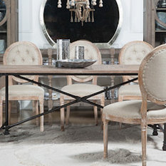 Eclectic Dining Tables Houzz