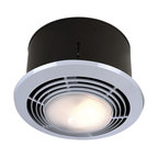 Exhaust Fan With Light Contemporary Bathroom Exhaust