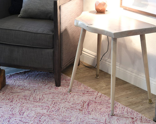 Whitewashed end tables