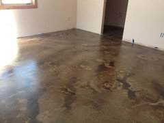 Concrete Stain Is Chipping