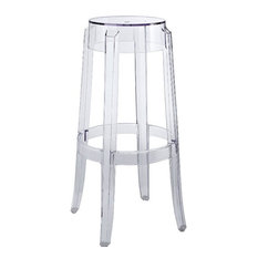 Clear Bar Stools And Counter Stools Houzz
