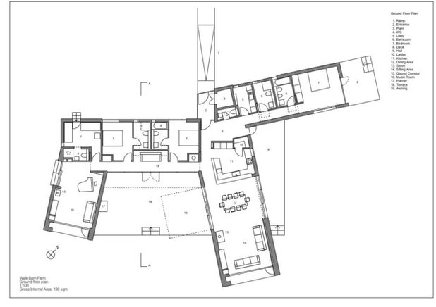 Floor Plan by Charles Barclay Architects