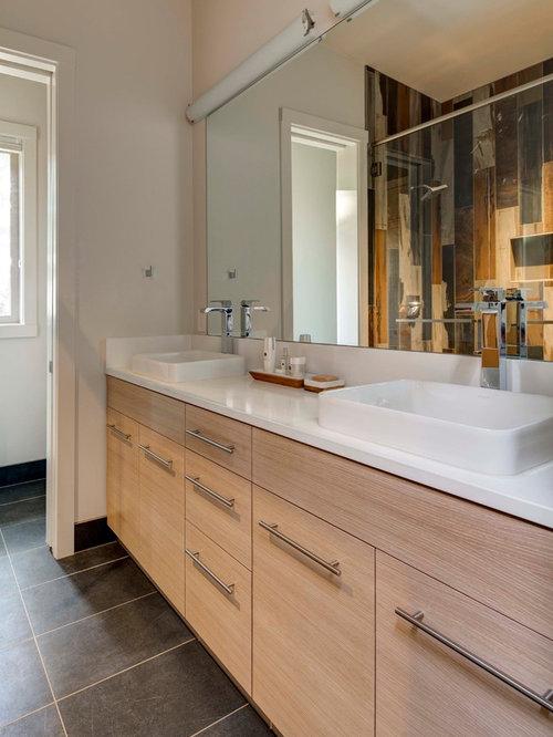 Dwell bathroom design ideas remodels photos with light for Dwell bathroom designs