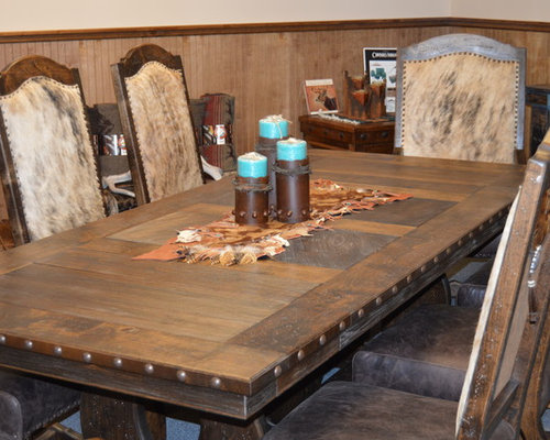 western hacienda dining room set dining tables