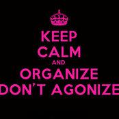 Organize Don't Agonizes foto