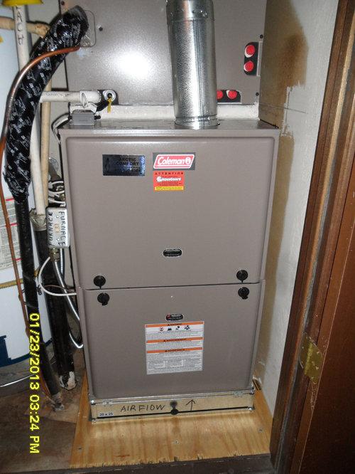 air conditioning and heating job photos