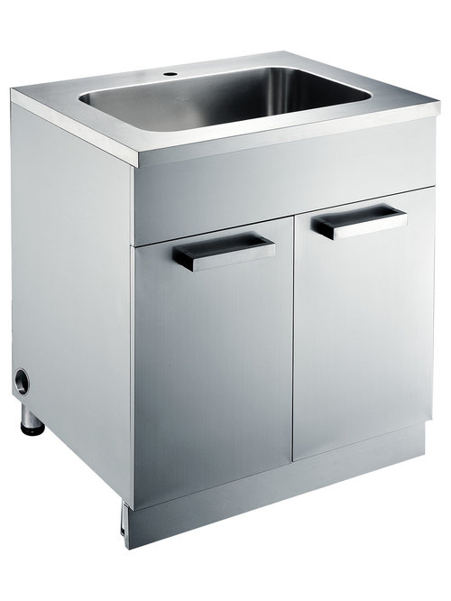 stainless steel sink base cabinets