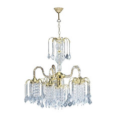 Chandeliers With A Clear Shade Houzz