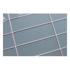 Rocky Point Tile Jasper 4 Quot X12 Quot Glass Subway Tiles Blue