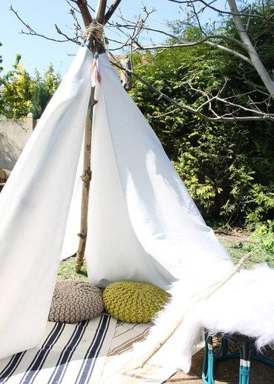 diy fabriquer un tipi pour profiter des beaux jours. Black Bedroom Furniture Sets. Home Design Ideas