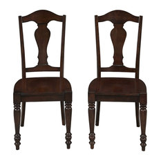 home styles country comfort dining chair pair thoughtfully crafted