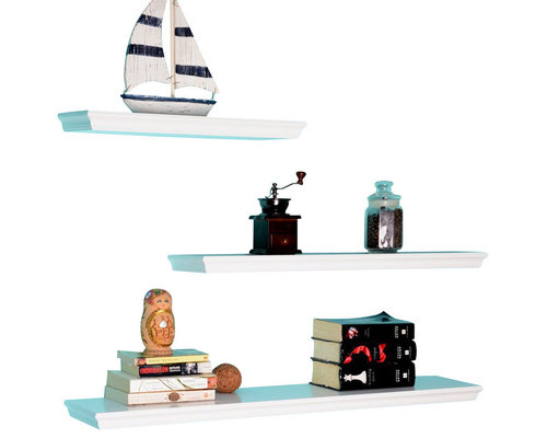 Welland Dover  Pc Display Shelves Set Display Wall Shelves
