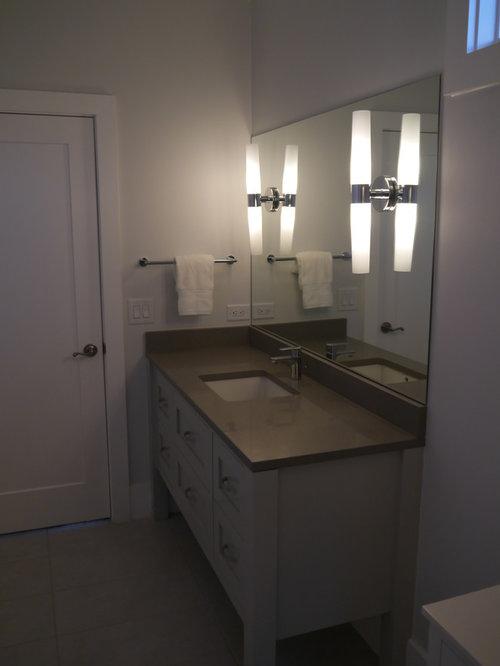 Bathroom Quartz Countertop Home Design Ideas Pictures