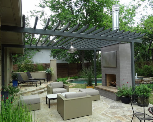 Outdoor pergolas home design ideas pictures remodel and for Pergola images houzz