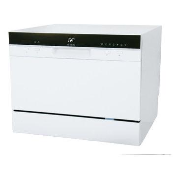 Countertop Dishwasher New Zealand : ... Settings White Countertop Dishwasher With Delay Start - Dishwashers