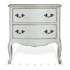 Eloquence Eloquence Clementine Nightstand In Antique